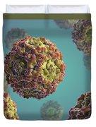 Parvovirus B19 Duvet Cover
