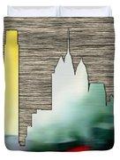 Philadelphia Skyline Duvet Cover
