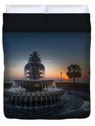 Charleston Sunrise  Duvet Cover