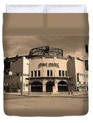Pnc Park - Pittsburgh Pirates Duvet Cover