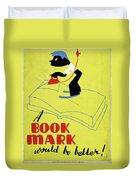 Poster Books, C1938 Duvet Cover