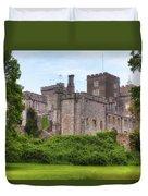Powderham Castle Duvet Cover