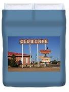 Route 66 - Santa Rosa New Mexico Duvet Cover