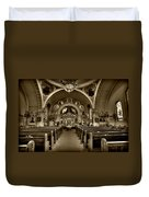 Saint Marys Orthodox Cathedral Duvet Cover