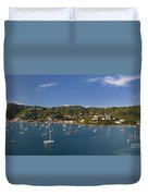 Saint Thomas Duvet Cover by Brian Jannsen