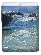 Scenic View Of Stairway Glacier R Duvet Cover
