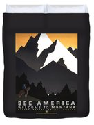 See America Poster, C1937 Duvet Cover