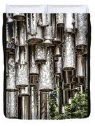 Sibelius Pipe Monument - Helsinki Finland Duvet Cover