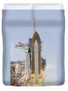 Space Shuttle Atlantis Twin Solid Duvet Cover