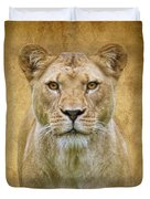 Stare Down Duvet Cover