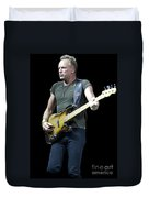 Sting Of The Police Duvet Cover