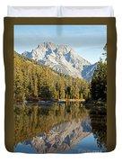 String Lake Grand Teton National Park Duvet Cover