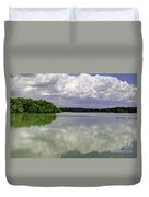 4-summer Time At Moraine View State Park Duvet Cover