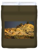 Sunset In An Ancient Land Duvet Cover