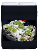Sushi California Roll Duvet Cover