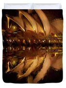 Sydney Opera House Abstract Duvet Cover