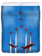 The Red Arrows  Duvet Cover