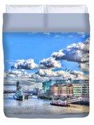 The River Thames Duvet Cover
