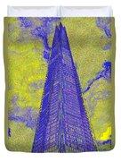 The Shard London Art Duvet Cover