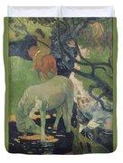 The White Horse Duvet Cover