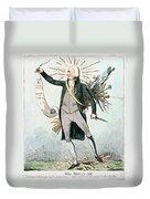 Thomas Paine (1737-1809) Duvet Cover