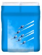 Thunderbirds And Blue Sky  Duvet Cover