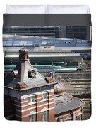 Tokyo Station Duvet Cover