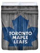Toronto Maple Leafs Duvet Cover
