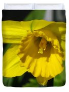 Trumpet Daffodil Named Exception Duvet Cover