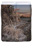 Tufa Formations, Mono Lake, Ca Duvet Cover