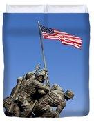 Us Marine Corps Memorial Duvet Cover