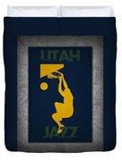 Utah Jazz Duvet Cover