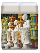 Vietnamese Temple Shrine Duvet Cover