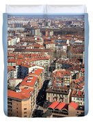 View Of Turin Duvet Cover