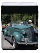 Vintage Cars Duvet Cover