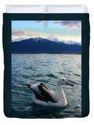 Wandering Albatross Duvet Cover