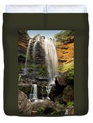 Wentworth Falls Blue Mountains Duvet Cover