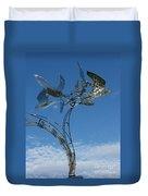 Whirlybird Duvet Cover
