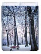 Winter Park Duvet Cover