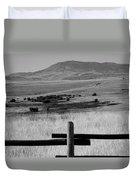 Wyoming Landscape Duvet Cover
