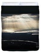 Aerial Photo Duvet Cover