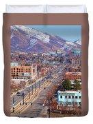 400 S Salt Lake City Duvet Cover