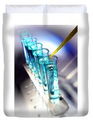 Laboratory Experiment In Science Research Lab  Duvet Cover