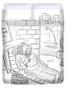 New Yorker September 4th, 2006 Duvet Cover