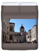 Views Of Dubrovnik Croatia Duvet Cover