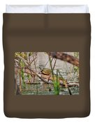 42- Florida Red-bellied Turtle Duvet Cover