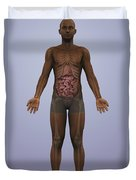 Human Anatomy Duvet Cover