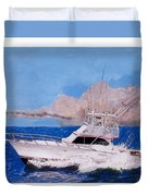 Storm Chasing On The High Seas Duvet Cover