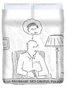 New Yorker December 8th, 2008 Duvet Cover