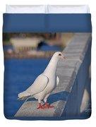 21- White Dove Duvet Cover